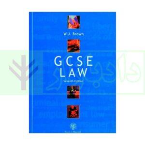 کتاب gcse law