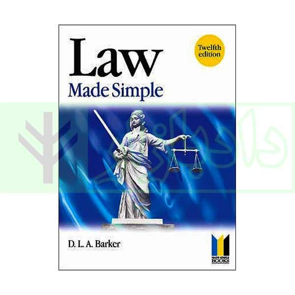 Law Made Simple 2001 | David Barker